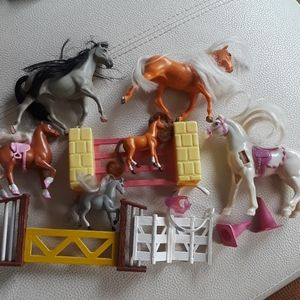 Vintage Horse Collection Toys